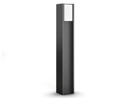 Philips Hue Turaco tuinpaal E27 9W 81cm dimbaar antraciet