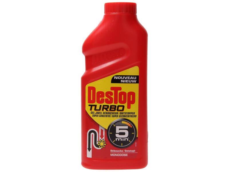 Turbo ontstopper met javel 500ml