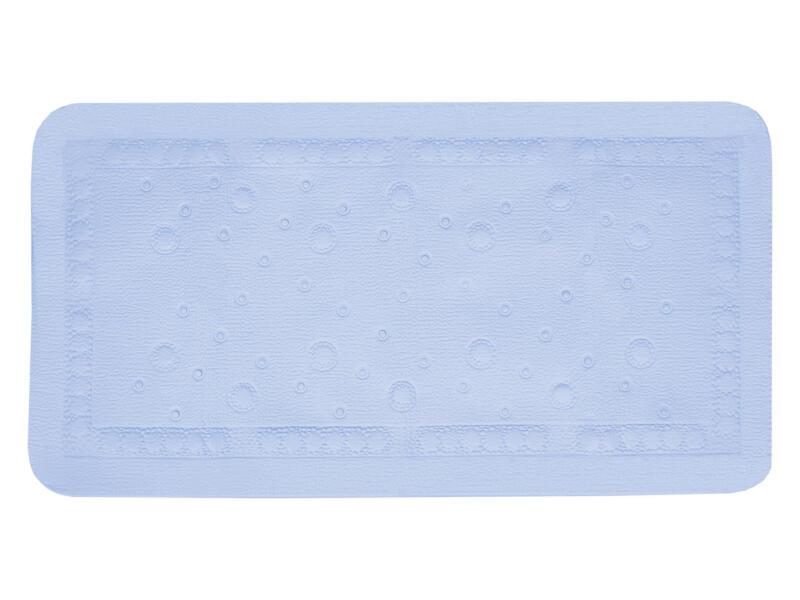Differnz Tutus antislip badmat 68x36 cm blauw
