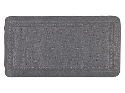 Differnz Tutus tapis de bain antidérapant 68x36 cm anthracite