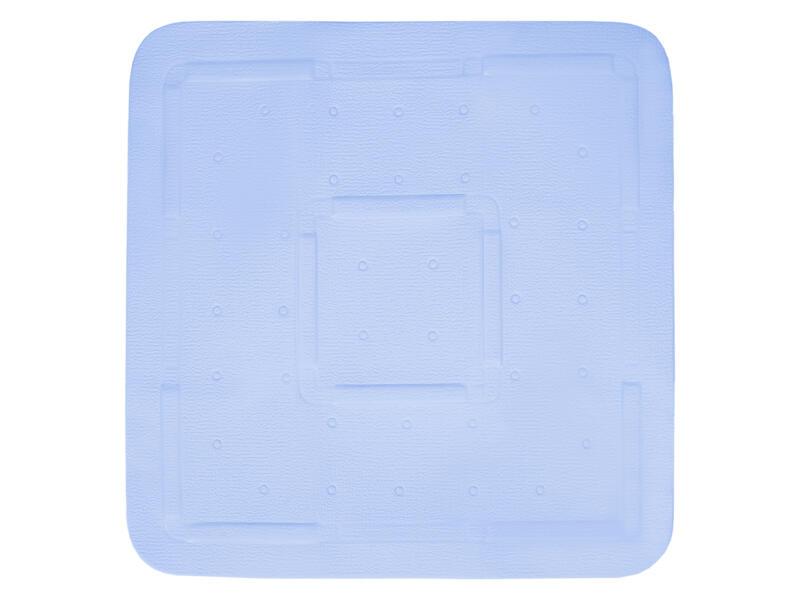 Differnz Tutus tapis de douche antidérapant 55x55 cm bleu