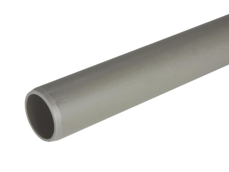 Scala Tuyau sanitaire NU 40mm 3m 3mm gris
