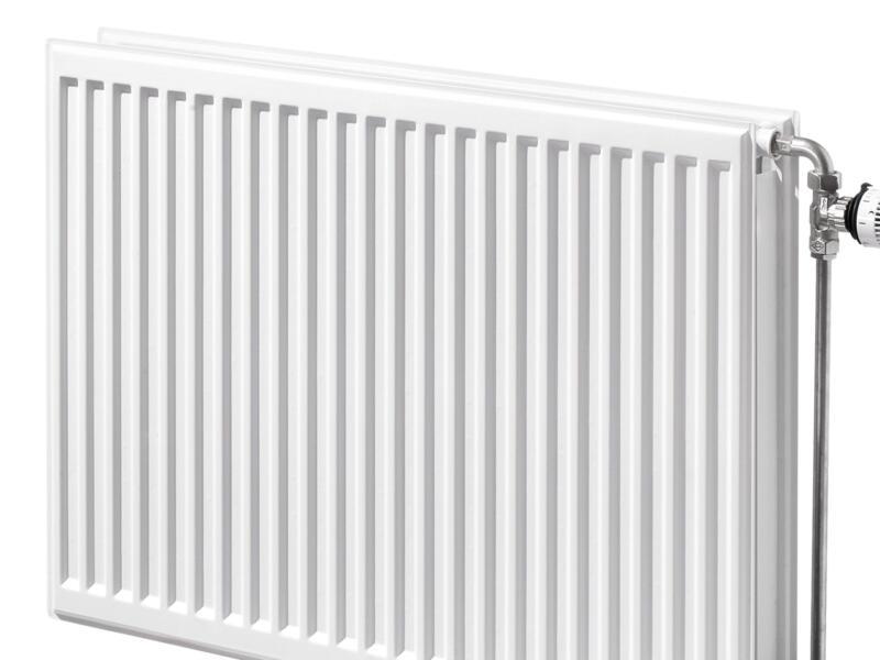 Henrad Type 22 radiateur à panneaux horizontal 90x60 cm 1600W