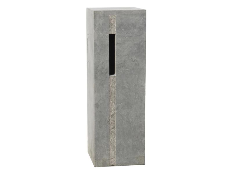 De Witte Type 32 boîte aux lettres pierre bleue