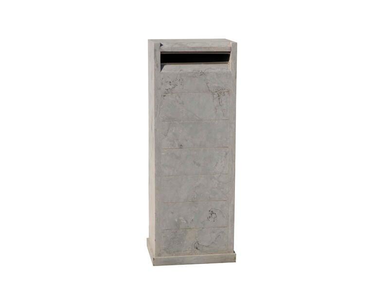 De Witte Type 39 boîte aux lettres pierre bleue