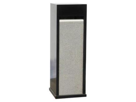De Witte Type 64 boîte aux lettres granit noir
