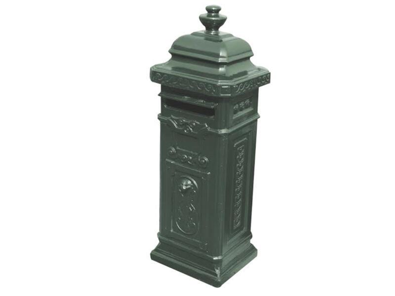 De Witte Type 82 boîte aux lettres en béton vert