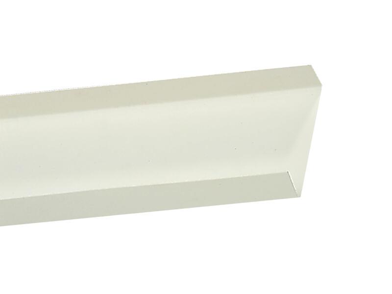Semin U Plastique 3m 25x100 mm
