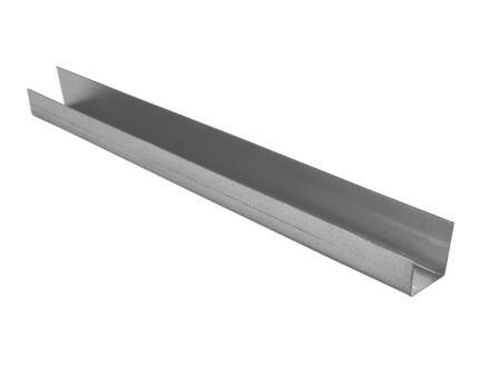 U-profiel 3m 27x48 mm staal