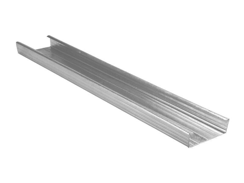 U-profiel 4m 60x27 mm staal