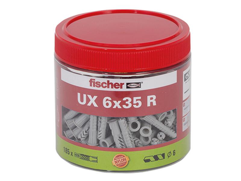 Fischer UX universele pluggen 6x35 mm 185 stuks