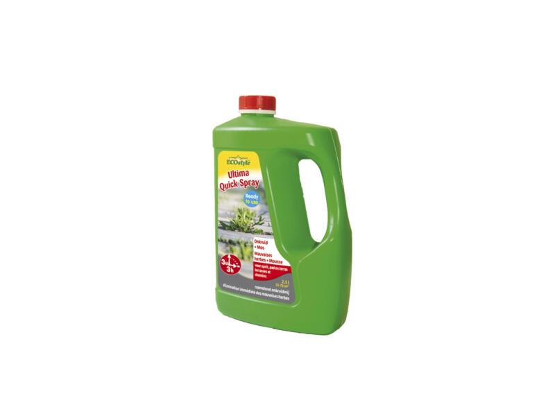Ecostyle Ultima Quick Spray désherbant & antimousse 2,5l