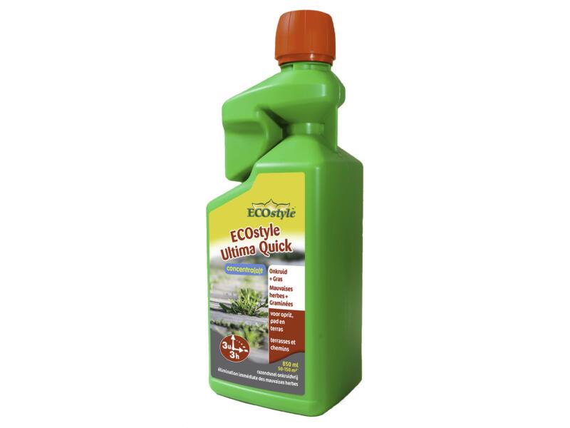 Ecostyle Ultima Quick onkruidverdelger onkruid & gras 850ml