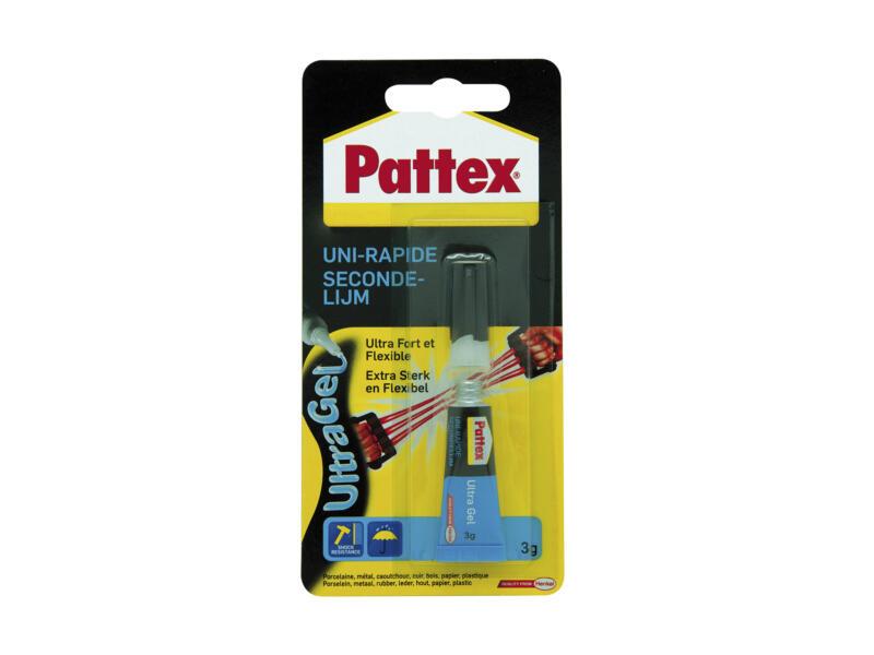 Pattex Ultra Gel secondelijm 3g