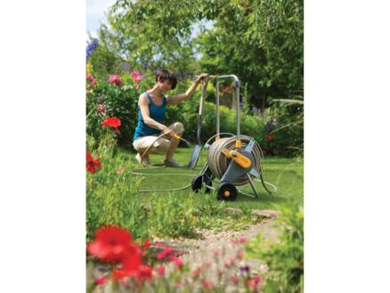 Hozelock Ultra Metal Cart slangenwagen met tuinslang 30m