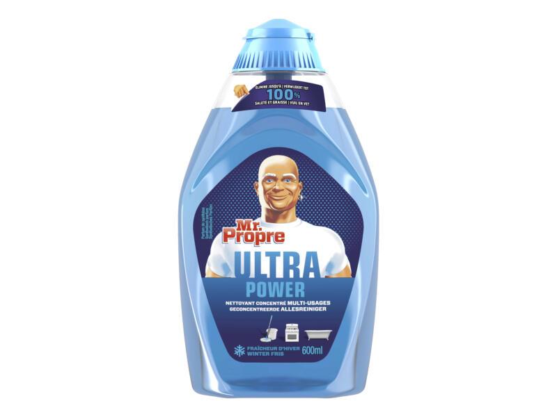 Mr Propre Ultra Power gel nettoyant multi-usages 600ml fraîcheur d'hiver