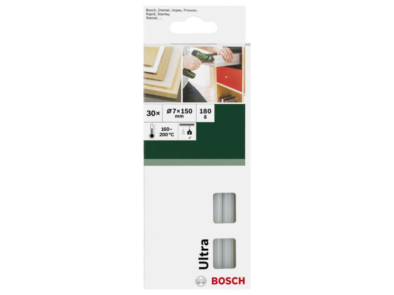 Bosch Ultra bâtons de colle 7mm transparent lot de 30