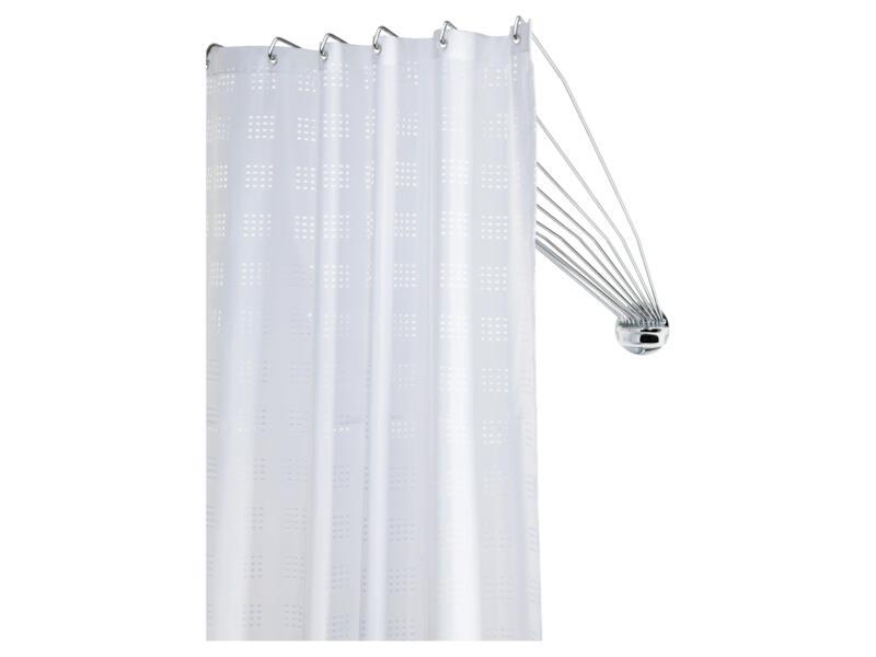 Sealskin Umbrella barre rideau de douche 80cm chrome