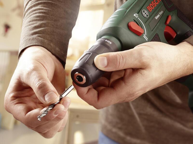 Bosch Uneo Maxx marteau-perforateur sans fil 18V Li-Ion + 2 batteries