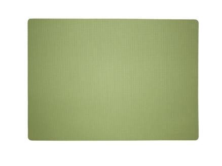 Finesse Uni placemat 43x30 cm muntgroen