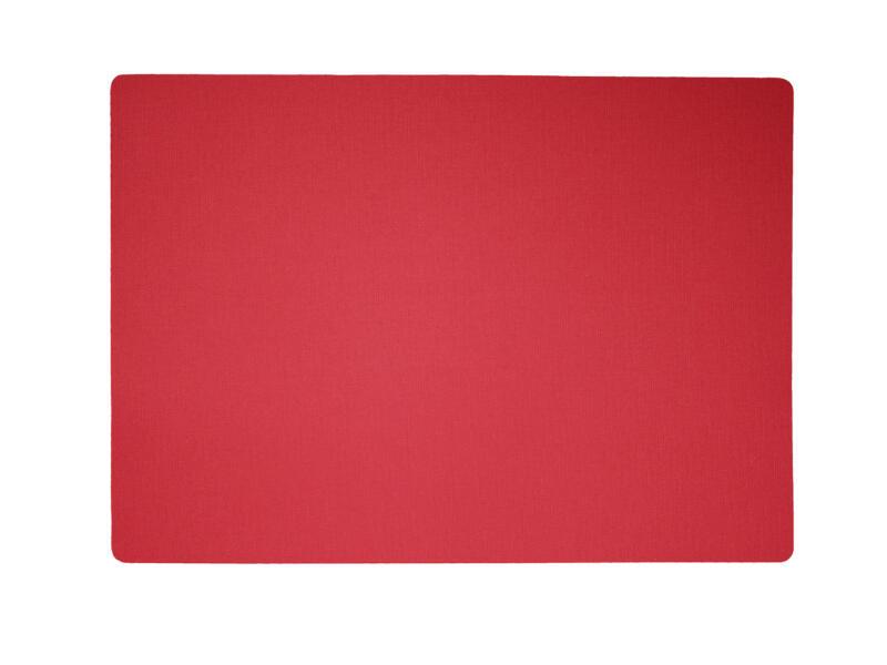 Finesse Uni placemat 43x30 cm venetiaans rood
