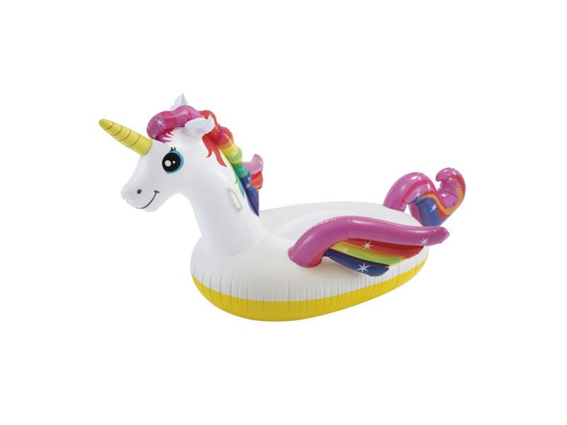 Intex Unicorn Ride On opblaasfiguur 201x140x97 cm