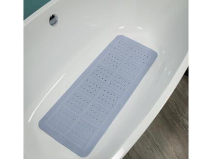 Sealskin Unilux tapis antidérapant baignoire 90x35 cm bleu pastel