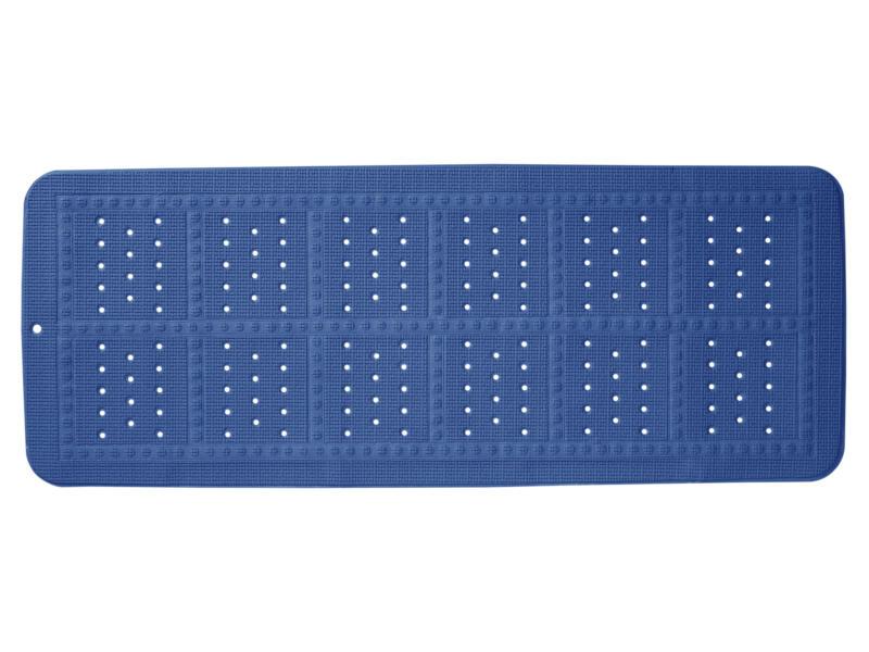 Sealskin Unilux tapis antidérapant baignoire 90x35 cm bleu