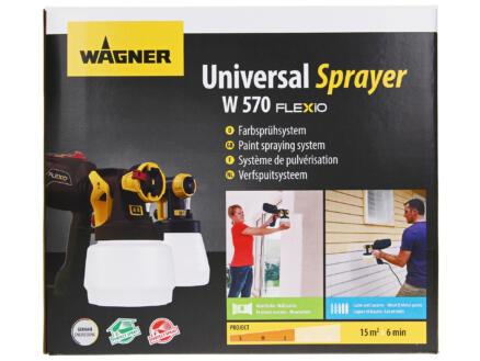 Wagner Universal Sprayer W570 Flexio pulvérisateur à peinture 630W