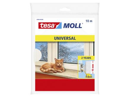 Tesa Universal bourrelet 10m 1,5cm blanc