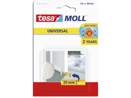 Tesa Universal dorpelstrip 1m 3,8cm wit