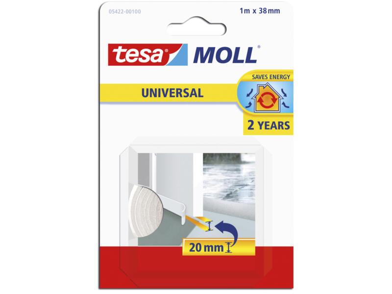 Tesa Universal isolation bas de porte 1m 3,8cm blanc