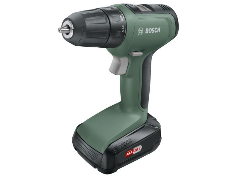 Bosch UniversalDrill 18 perceuse-visseuse sans fil 18V + 2 batteries