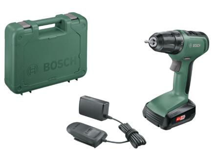 Bosch UniversalDrill 18 perceuse-visseuse sans fil 18V Li-ion + chargeur