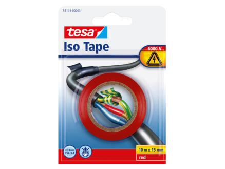 Tesa Universalband ruban isolation 10m x 15mm rouge