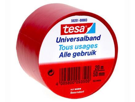 Tesa Universalband ruban isolation 20m x 50mm rouge