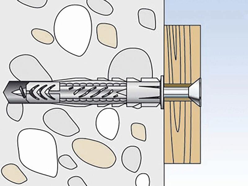 Fischer Universele plug UX 6x50 RK