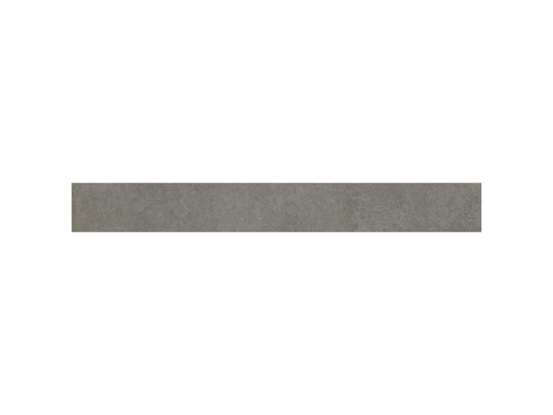 Uptown Dark plint 7,2x60 cm grijs 3lm/doos