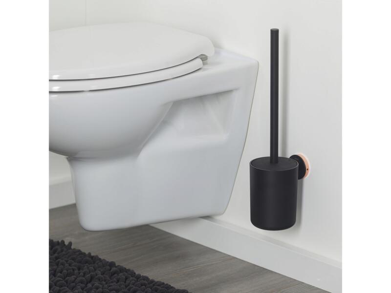 Tiger Urban brosse WC avec support mural noir