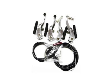 Maxxus V-Brake remmen voor en achter + kabels