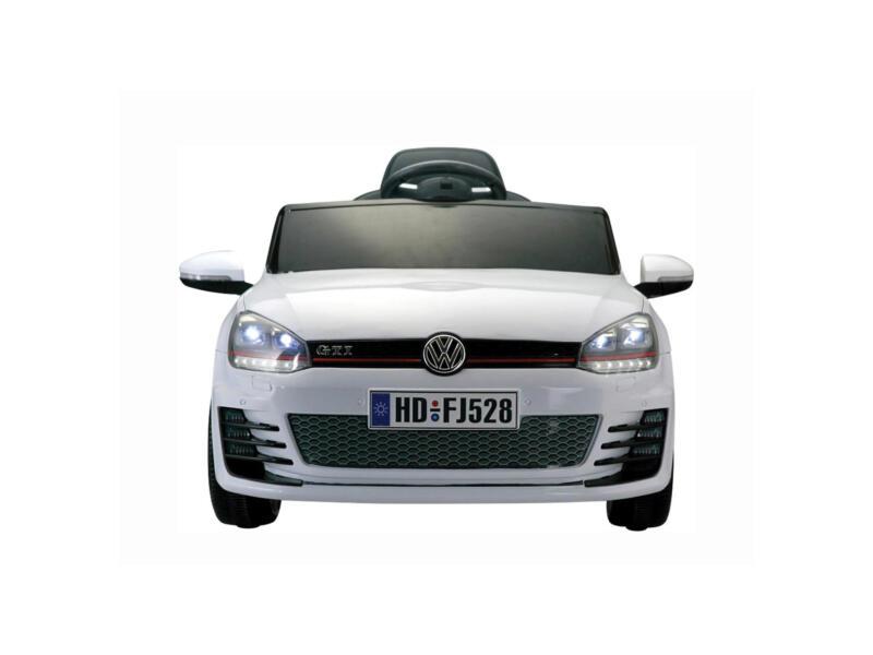 VW Golf GTI voiture électrique pour enfants blanche ...