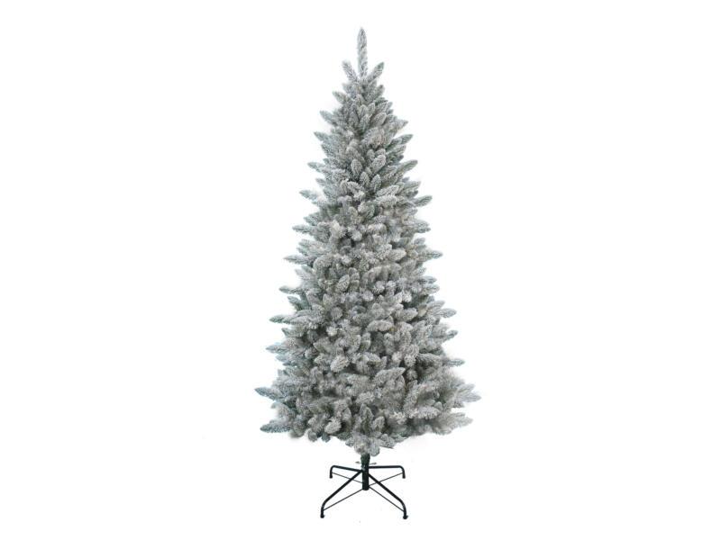 Vancouver Flocked kerstboom 228cm