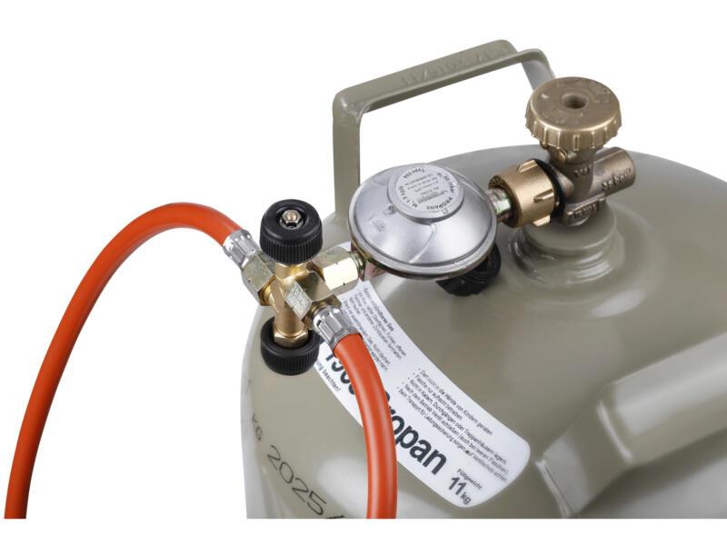 Vanne à double dérivation propane/butane