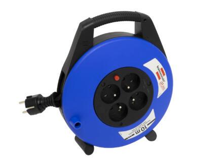 Brennenstuhl Vario-Line enrouleur de câble électrique 15m noir/bleu