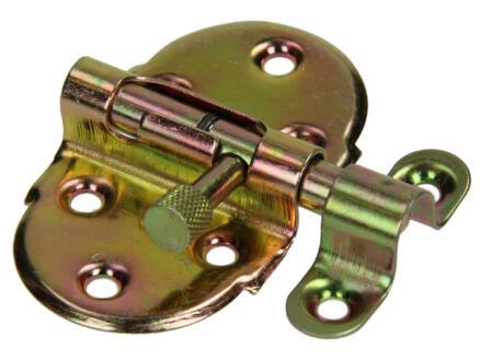 Veergrendel met sluitbeugel 40mm