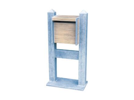 VASP Venice Woodlook boîte aux lettres pierre bleue belge