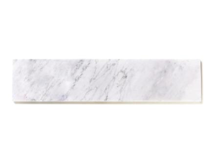 Vensterbank 126x25x2 cm marmer nordic white