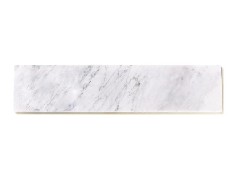 Vensterbank 88x25x2 cm marmer nordic white