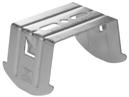 Verbindingsruiter 9cm 60x60 mm staal