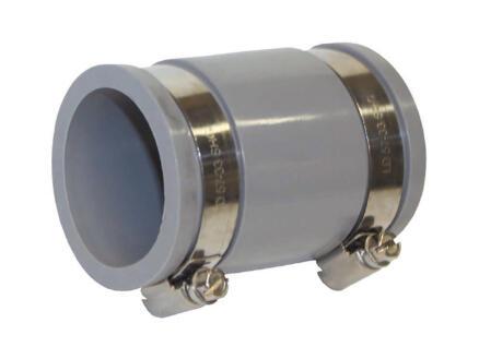 Scala Verloopmof 50/42 mm rubber grijs